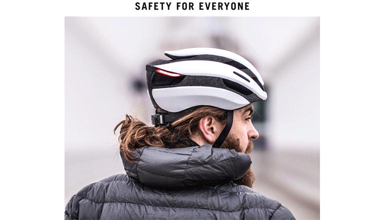 自転車ヘルメットの新しいスタンダードに「Lumos Ultra」
