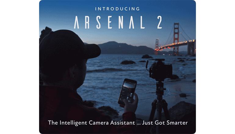 AIの力で、写真撮影はもっと快適に「Arsenal 2」