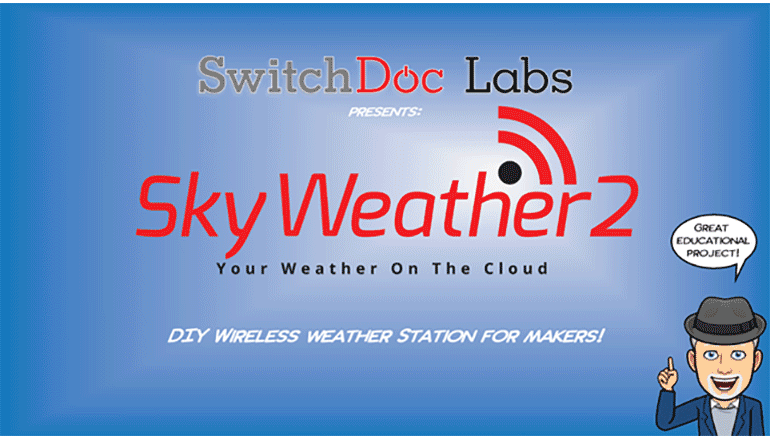 DIYでオリジナルの天気予報を実現「SkyWeather2」