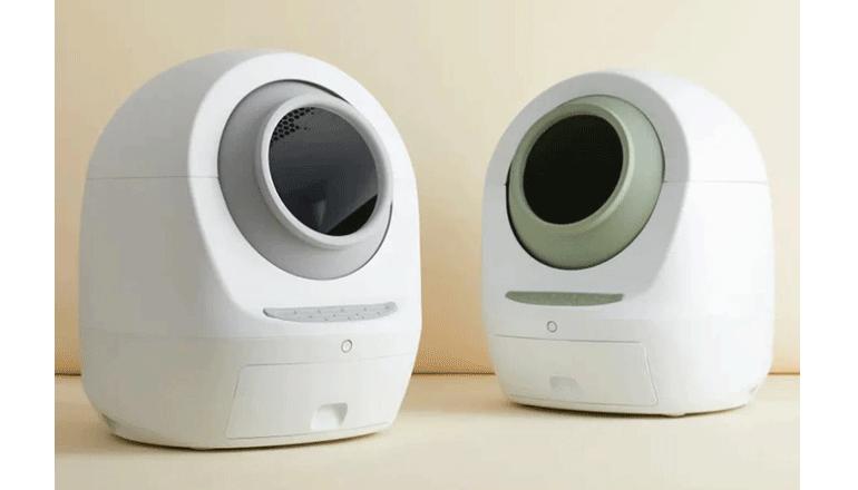 アプリで操作できるスタイリッシュな全自動の猫用トイレ Meet:Meet