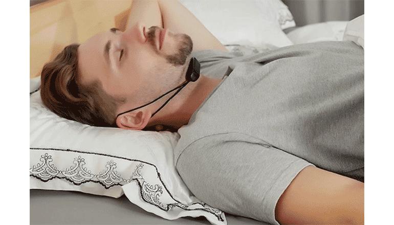完全ワイヤレスの睡眠時の呼吸と質を改善するプロダクト「SleepMi Pro」