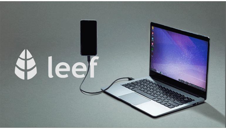 スマホをラップトップで利用したい方へ「LEEF」
