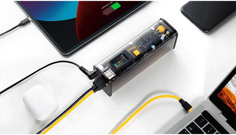 高い急速充電機能が魅力のポケットタイプバッテリー「STORM 2」