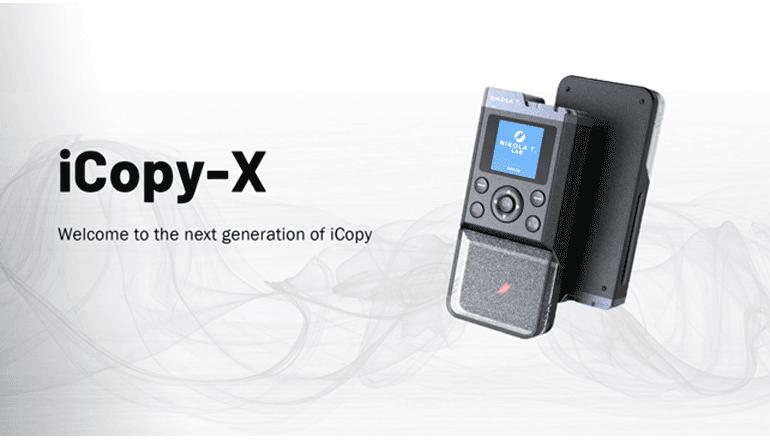 スマートなカードキー複製と利便性の高い情報管理機能付きコピー機「iCopy-X」