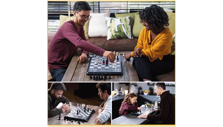AI搭載のスマートなチェス学習機能とレベルに合わせた対戦が可能のチェスゲーム「ChessUp」