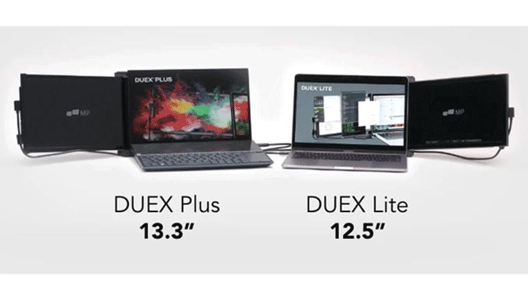 高速でより鮮やかなスクリーンと軽量化を実現したセカンドディスプレイ「DUEX Lite & DUEX Plus」