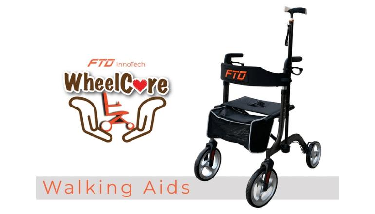 お年寄りや体の不自由な人のための新しいソリューション「WheelCare Walking Aids」
