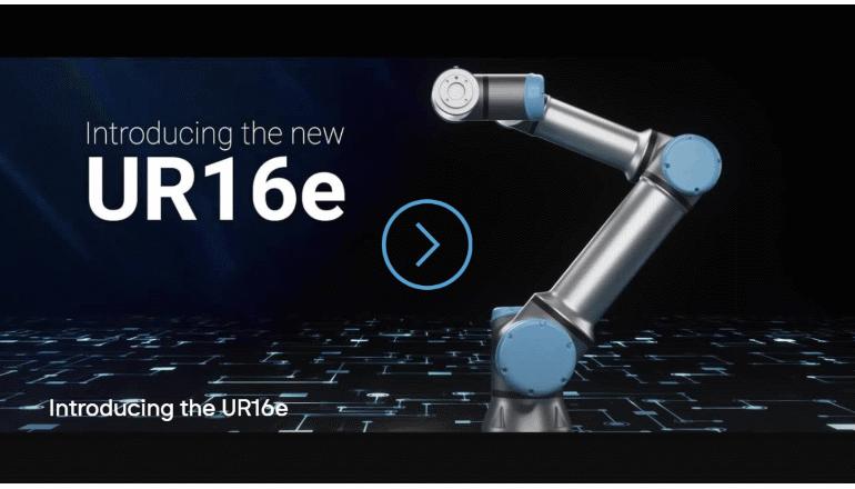 16kgの物体を搬送・精確に扱う、シンプル設定の協働ロボ登場!