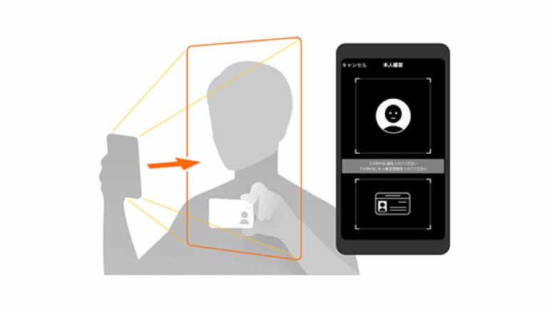 「スマホで自撮り、顔の情報つかって銀行口座を簡単に開設する」