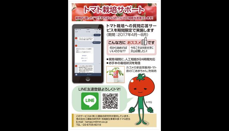 人工知能とともにトマトを育てよう!