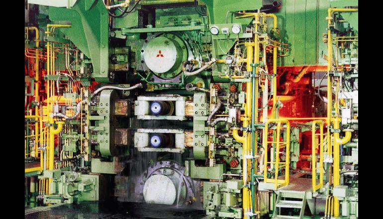板幅性能の向上とスクラップ材の削減を実現する制御システムを受注