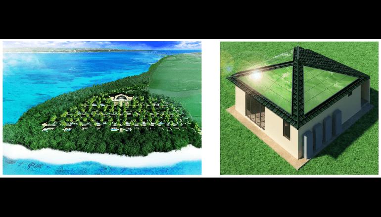 宮古島に人工光合成技術によるエコハウスを建設