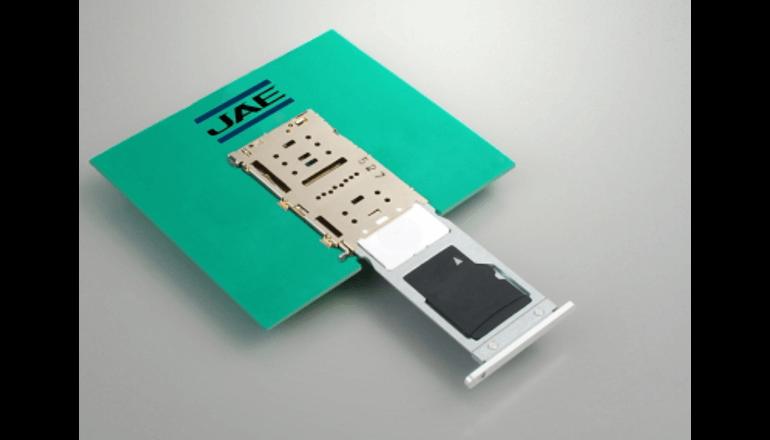 複合型3in2タイプのカード用コネクタを提供開始