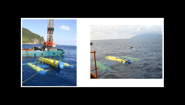 100キロワット級の海流発電の実証試験を完了 NEDOとIHI