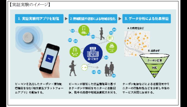 地域の消費拡大を目指す実証実験、宮崎市で実施