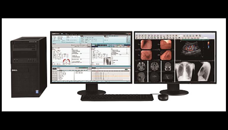 診療所のカルテと画像診断装置をオンライン連携