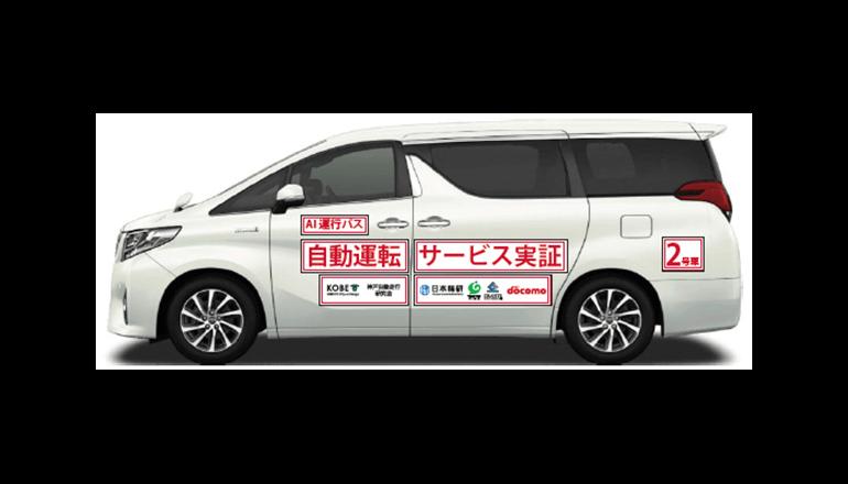 自動運転を活用した近距離圏内移動サービスの実証実験、神戸市