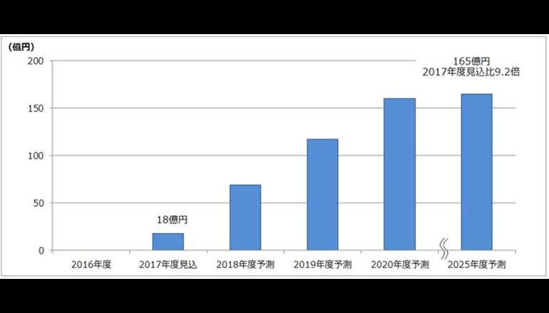 日本社会に広がるAIの市場は今
