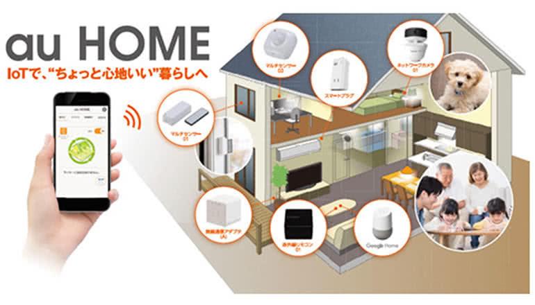 ホームIoTを実現する「au HOME」が「Google Home」と連携