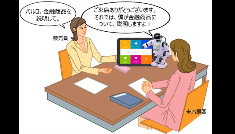 ロボットによる金融商品の販売支援を実証実験、肥後銀行