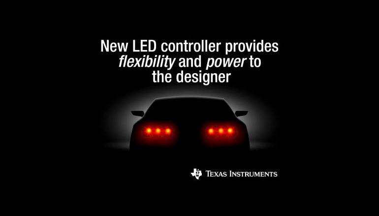 車載LED照明設計に柔軟性を提供する新型コントローラ製品