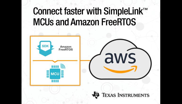 迅速なクラウド接続の実現に向け「Amazon FreeRTOS」を統合