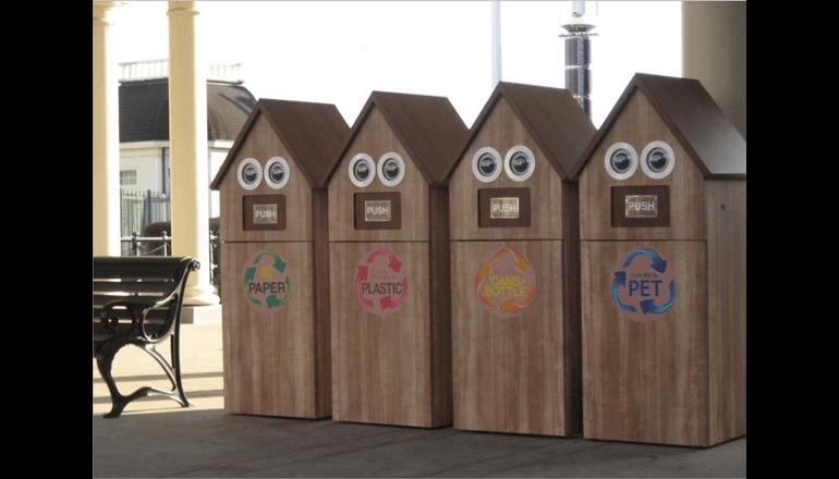 ゴミの滞留を遠隔から見える化し収集業務を効率化、ハウステンボスで実証実験