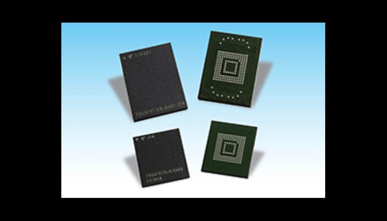 車載機器向け規格準拠の組み込み式NAND型フラッシュメモリ