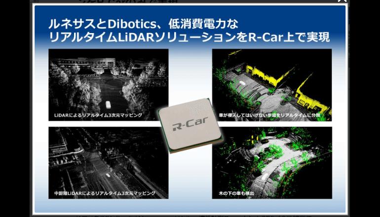 自動運転開発を促進させる低消費電力なLiDAR