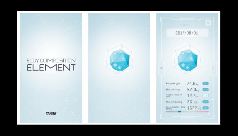 からだの組成、スマホアプリで3D鑑賞