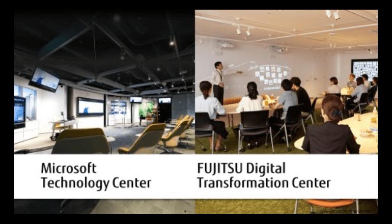 富士通とマイクロソフト、AI分野で協業し働き方改革を実現するサービスを共同開発