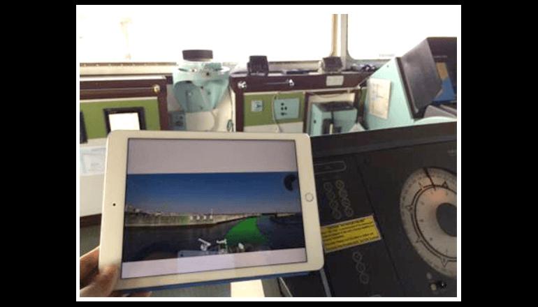 AR技術を活用した航海情報表示システムを共同開発