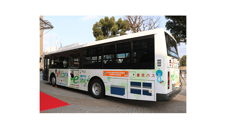 日産、熊本のEVバス「よかエコバス」に技術協力