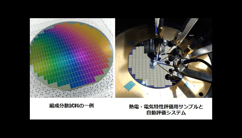 インフォマティクスにて新材料開発! 熱電変換効率を100倍/年に向上