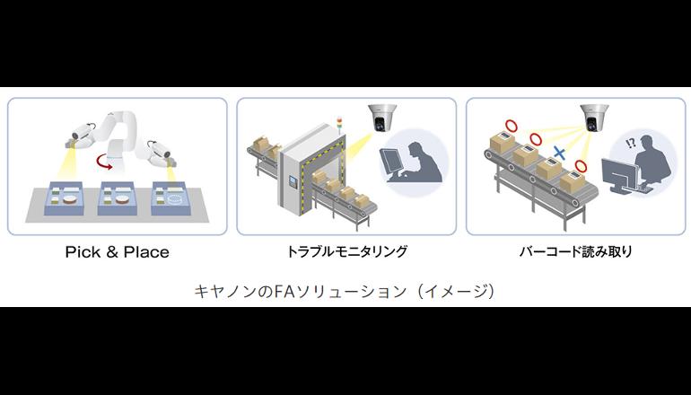 生産現場のモニタリング、画像処理、ロボットアイでFAに貢献