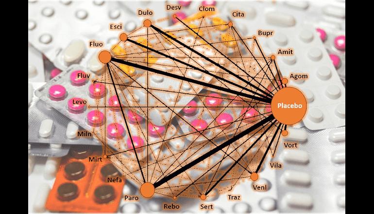 抗うつ剤21種の特徴を網羅的に比較評価しわかったこと