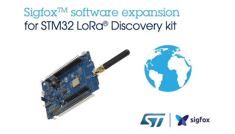 STM32マイコン用Sigfox通信組込みソフトウェアを発表