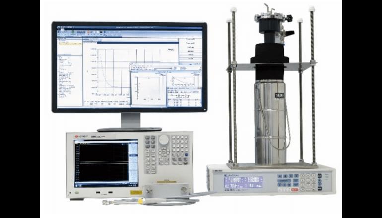 全固体電池の研究開発に寄与する測定システム