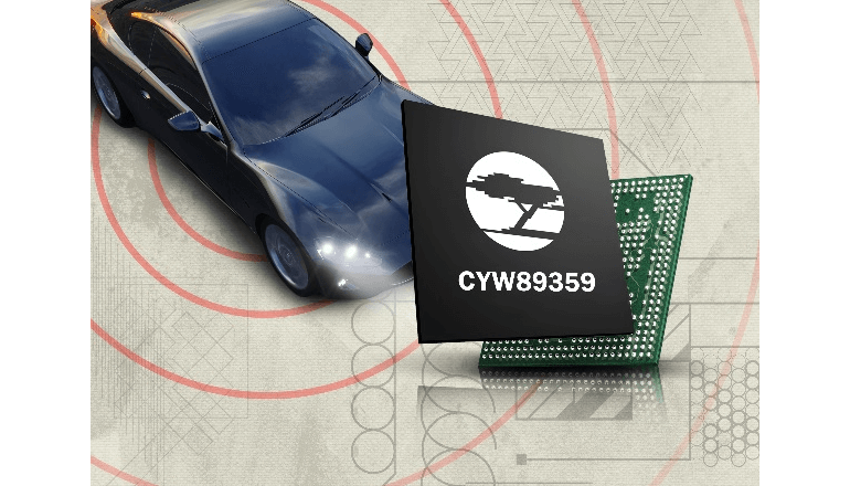 車内最大8個のデバイスの接続を実現する無線接続ソリューション