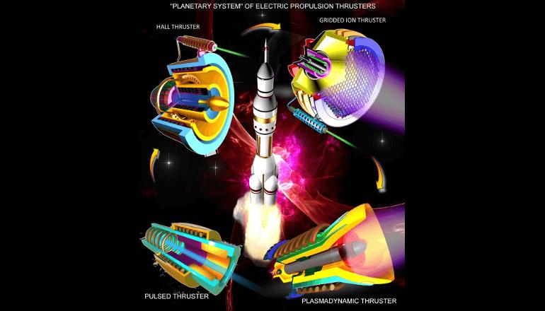 先進宇宙開発を支える「マイクロ推進システム」に関する論文