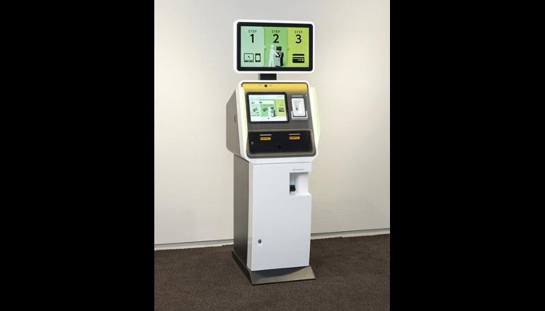 KIOSK端末による金融機関の各種手続きを効率化