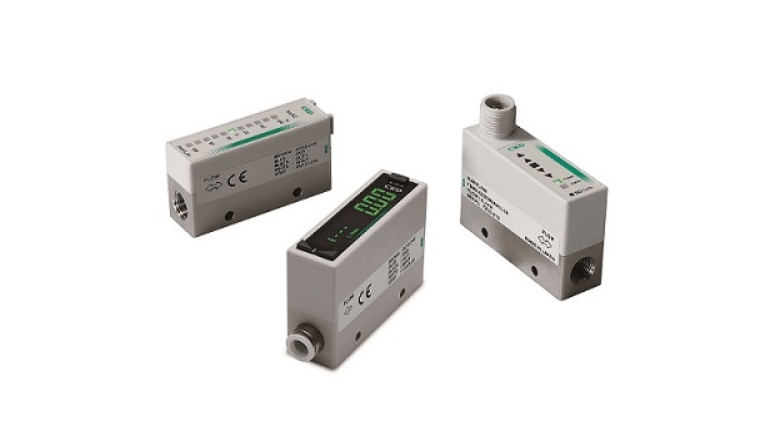 生産工程におけるガス流量、小型IoT計測