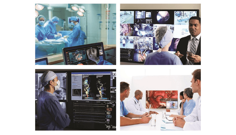 手術室内でのIPベースの4K映像伝送を可能に