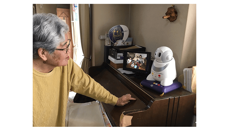 愛媛県西条市がロボットで高齢者を見守る実証実験を開始