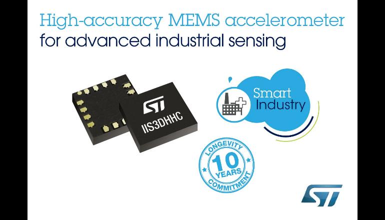 長期製造保証付きの新しい高精度MEMSセンサーを発表