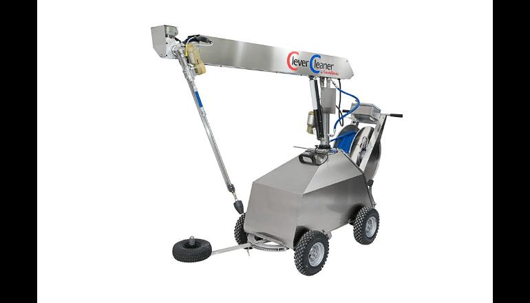 畜舎洗浄ロボット向け遠隔操作システムを開発