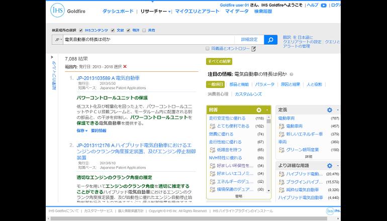 製品開発向け調査・検索ソリューションの提供を開始