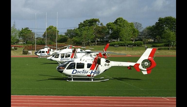 全国のドクターヘリ、飛行位置情報のリアルタイム管理が可能に