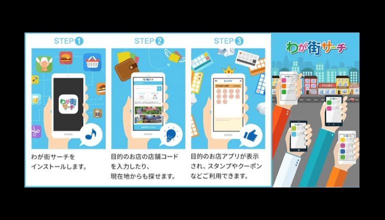 O2Oアプリが地域活性化、地方創生に一役
