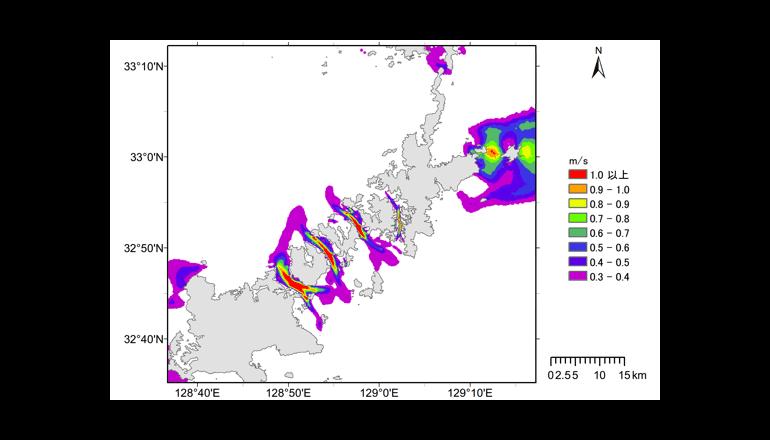 海洋エネルギー発電の資源量を推定する「海洋エネルギーポテンシャルマップ」を公開